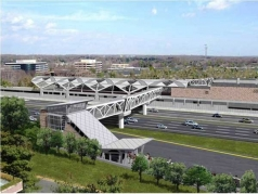 Dulles - Wiehle Metro Station, VA